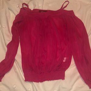 Vintage Guess Pink Shirt